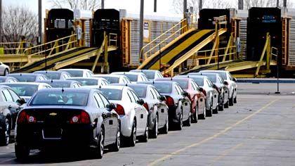 Wieder gefragt: Dank einer staatlichen Abwrackprämie ist zuletzt auch der Autoabsatz in den USA wieder gestiegen