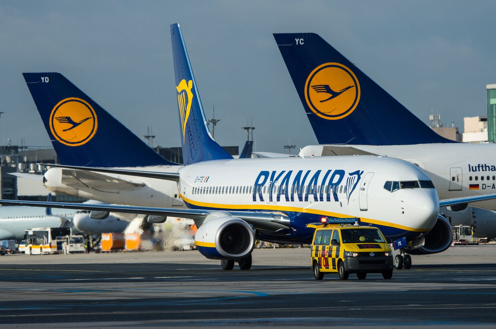 Ryanair / Lufthansa / Flughafen Frankfurt am Main