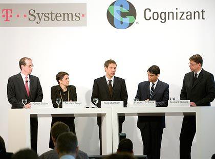 Es ist vollbracht: T-Systems will sich durch die Cognizant-Kooperation stärken