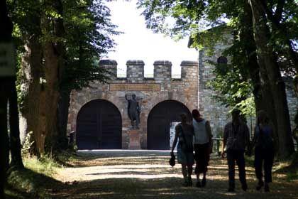 Geschichtsträchtig: Die Saalburgl, die zur Römerzeit der Bewachung eines Limesabschnitts im Taunus diente