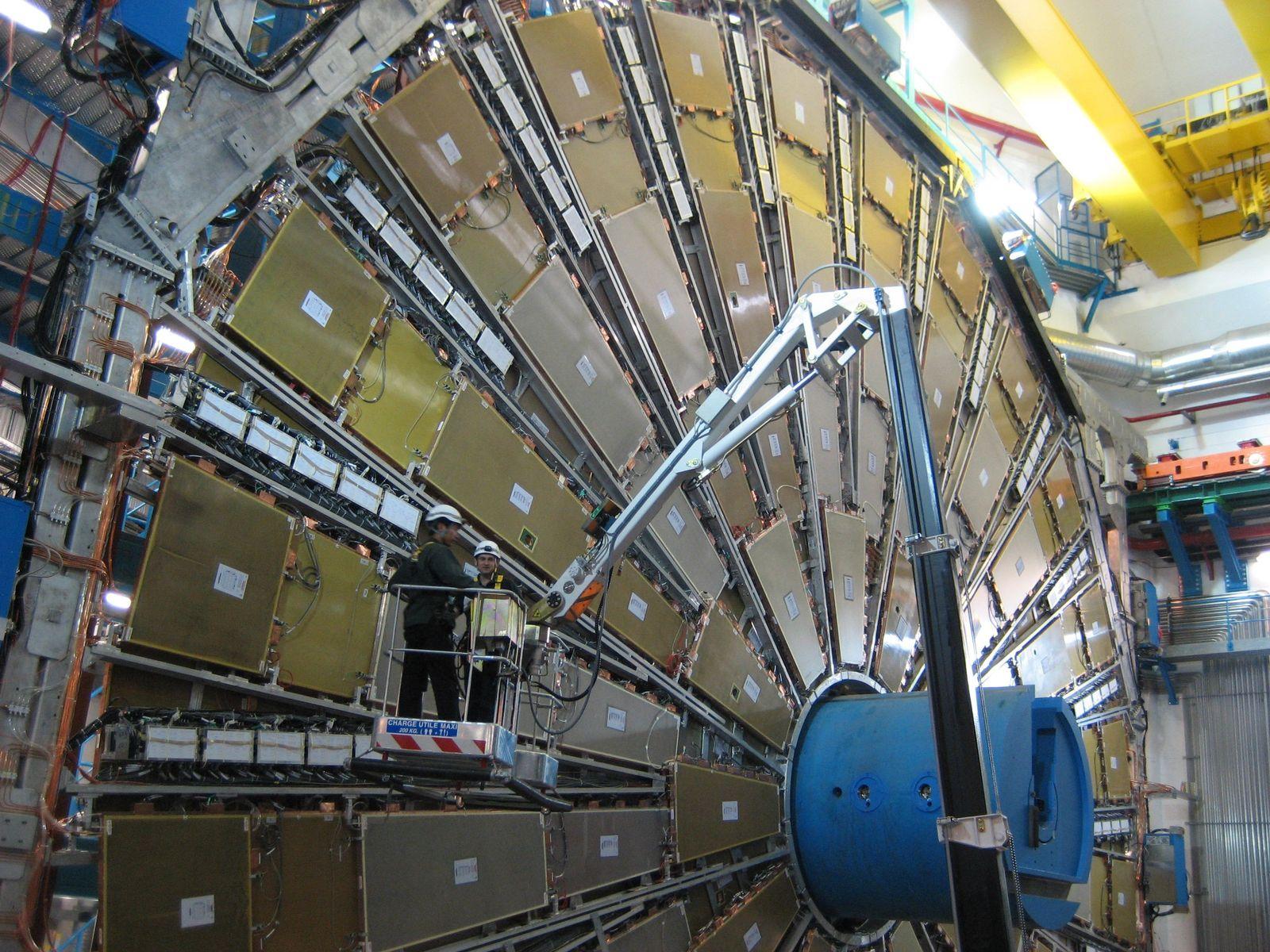 Teilchenforschungszentrum CERN - Detektor
