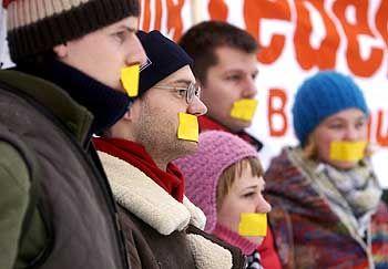 Weimarer Studenten: Stummer Protest