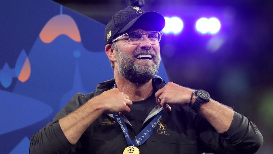 FC-Liverpool-Trainer Klopp beim Champions-League-Finale gegen Tottenham Hotspur: Der Trainer blickt auf ein erfolgreiches Jahr zurück