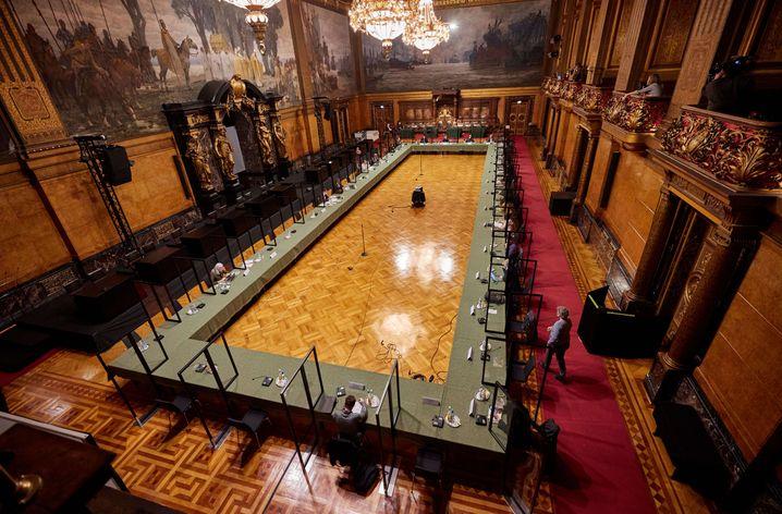 Ort der Aufklärung: Hier tagt der Parlamentarische Untersuchungsausschuss