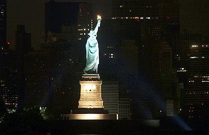 New Yorker Freiheitsstatue: Ein Gebiet halb so groß wie Deutschland ist betroffen
