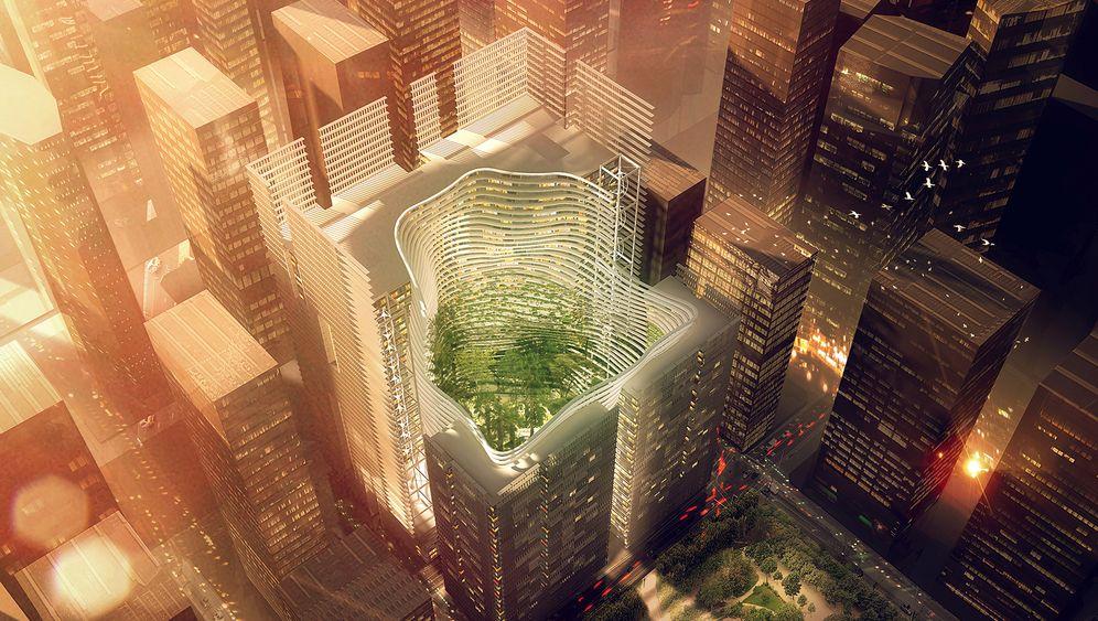 Wolkenkratzer: Ingenhoven-Projekte