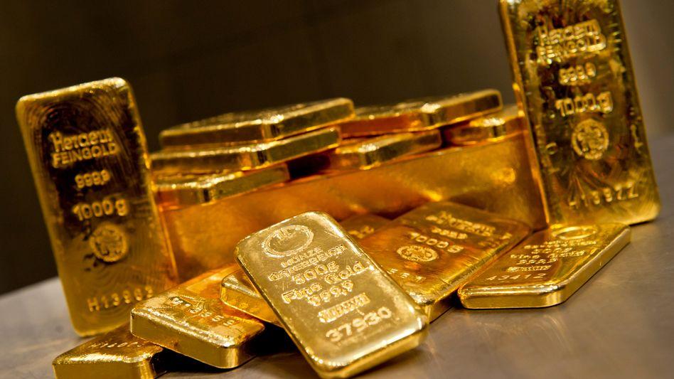 Goldbarren: Das Edelmetall wird in Krisenzeiten immer wieder verstärkt nachgefragt