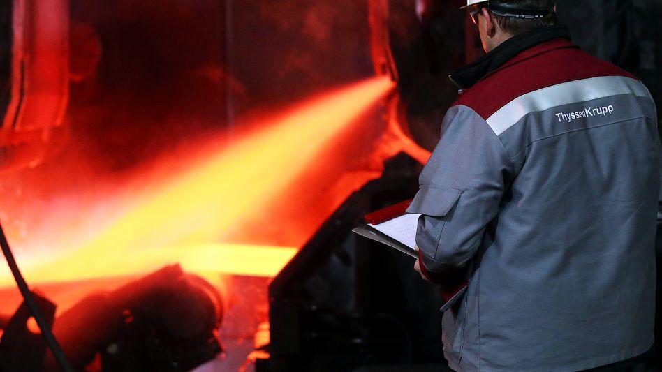 """ThyssenKrupp: """"Unter anderem sprechen wir auch mit Tata Steel"""""""