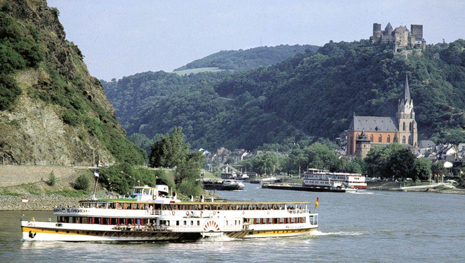 Rheintal in Deutschland: Hierzulande vergleichsweise geringe Einkommenswirkung der Wirtschaftskrise