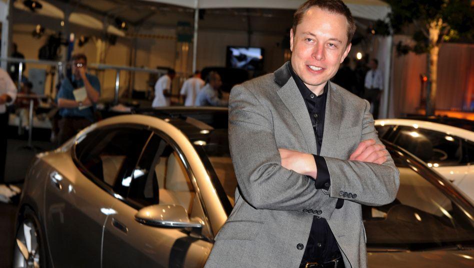Reingelegt: Tesla-Chef Musk ist als Viel-Twitterer bekannt - doch nicht alle Tweets unter seinem Namen stammen tatsächlich von ihm.