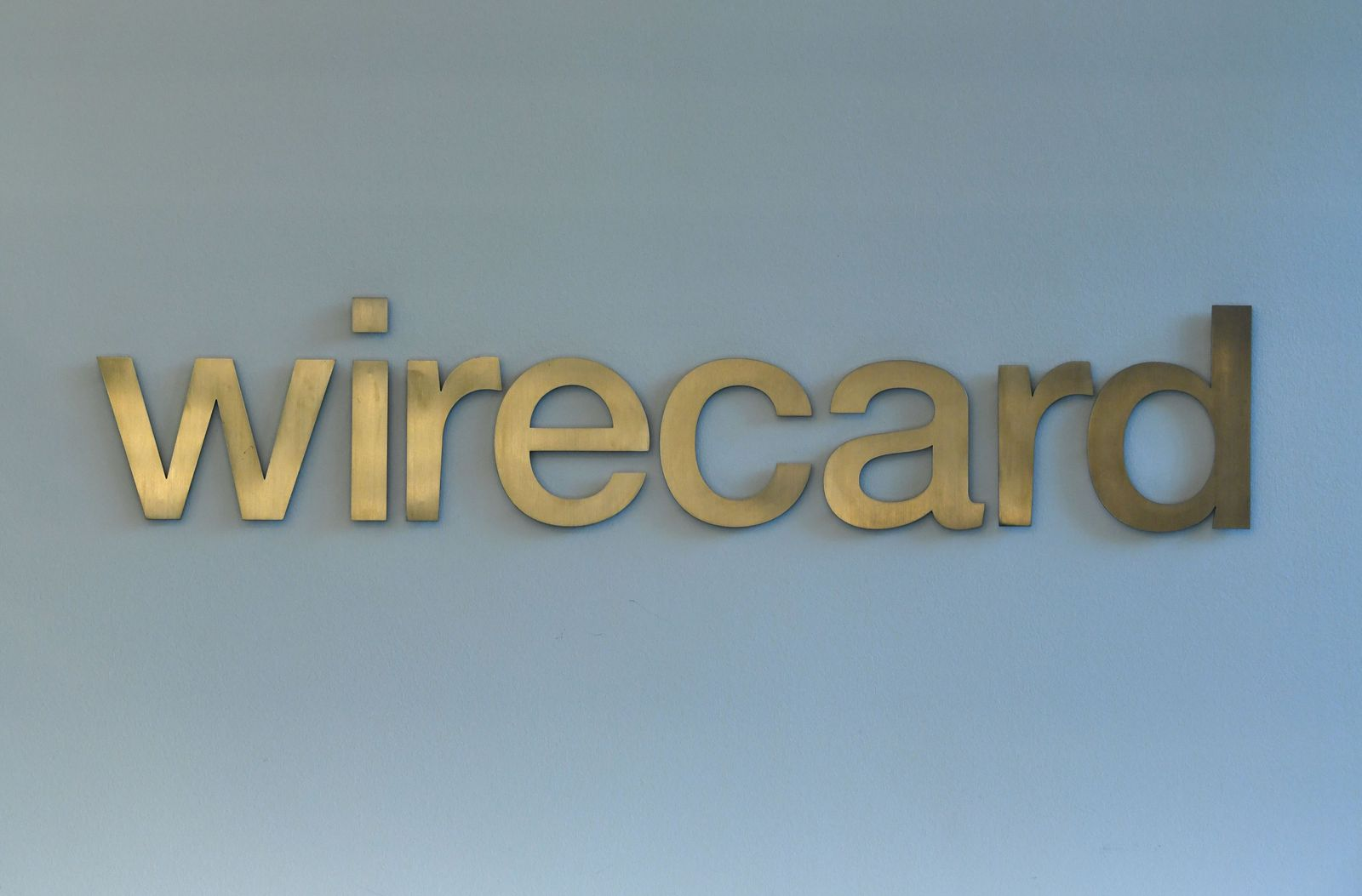 wirecard Logo gold