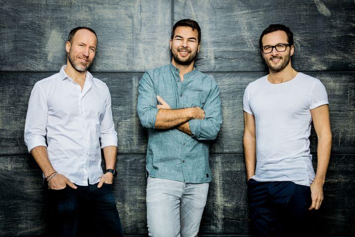 Everdrop Gründer Chris Becker, Daniel Schmitt-Haverkamp und David Löwe (v.l.n.r): Geld von Holtzbrinck Ventures für weiteres Wachstum
