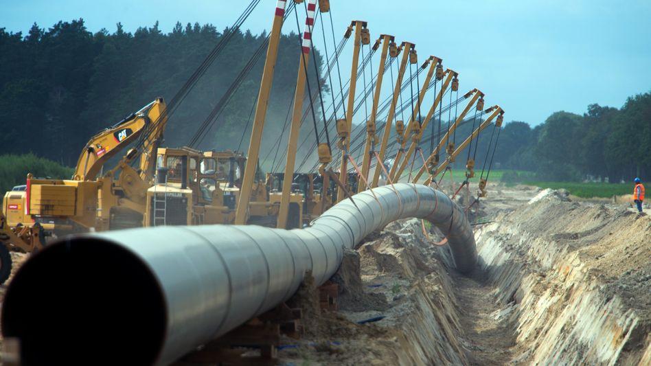 Erdgaspipeline: Die Preise für Öl und Erdgas sind rasant gestiegen