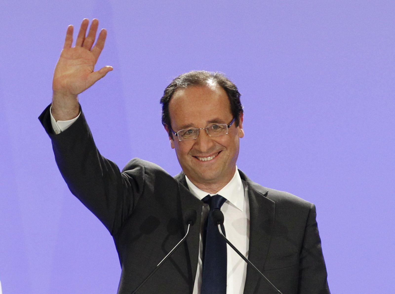 Frankreich/ Präsidentschaftswahl/ Hollande