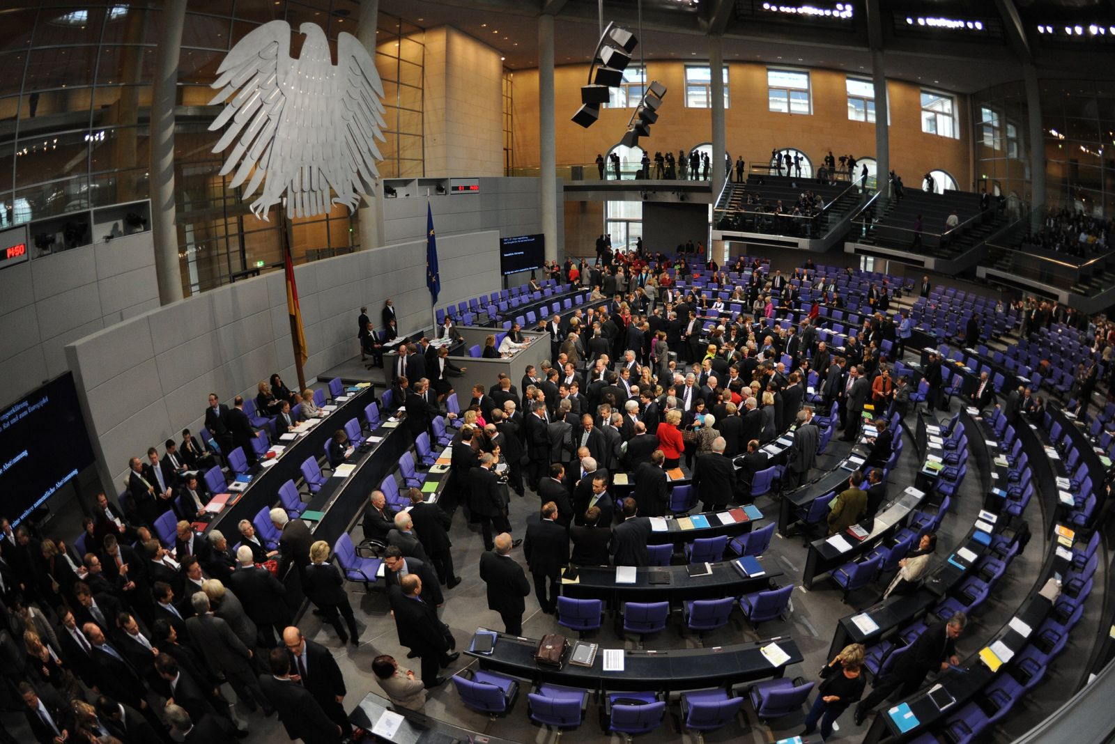 Bundestag / Plenarsaal