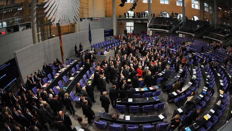 EFSF-Abstimmung im Bundestag: Auch zur Errichtung des ESM könnte die Regierung auf Oppositionsstimmen angewiesen sein