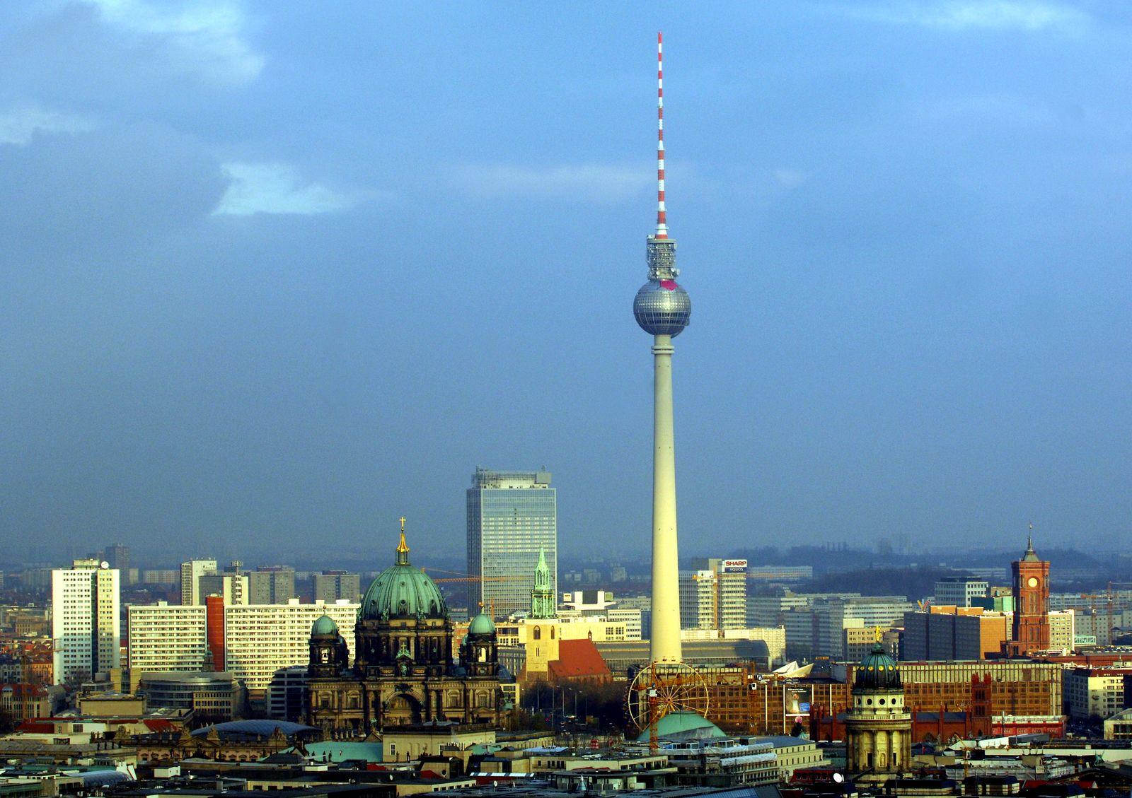 Skyline über Berlin