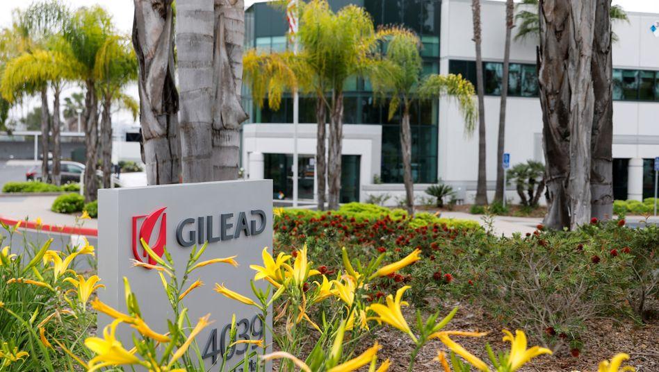 Konzernzentrale von Gilead Sciences in Oceanside, Kalifornien