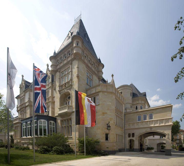 Hotel Villa Kennedy in Frankfurt