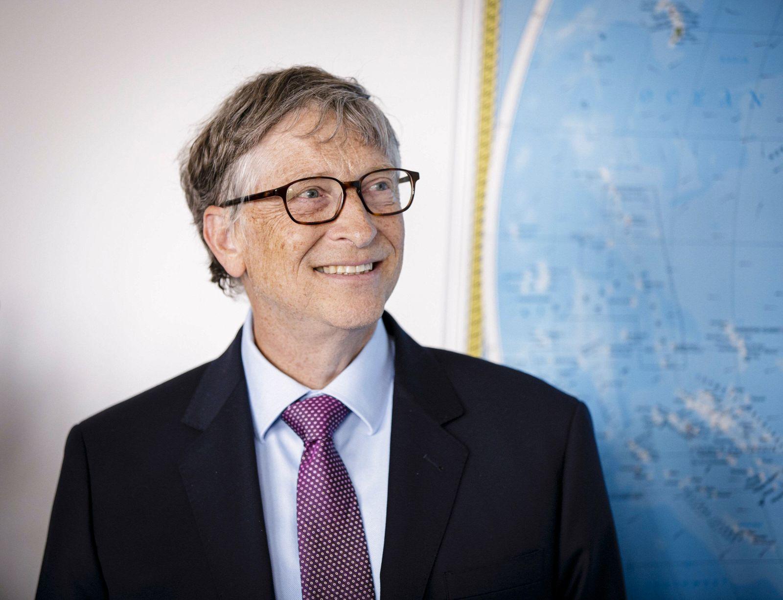 Bill Gates Ko Vorsitzender der Bill und Melinda Gates Stiftung 19 04 2018 Berlin Berlin Deutschl
