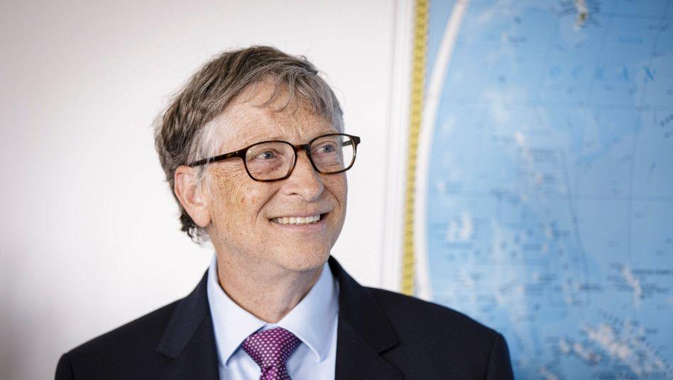 """""""Es wird mit Sicherheit zur Katastrophe kommen, wenn wir den CO2-Ausstoß nicht sehr, sehr drastisch reduzieren"""", sagt Microsoft-Mitgründer und Philanthrop Bill Gates."""
