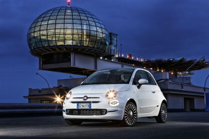 Fiat 500: Die Knutschkugel ist für den Carsharer Enjoy in Italien unterwegs
