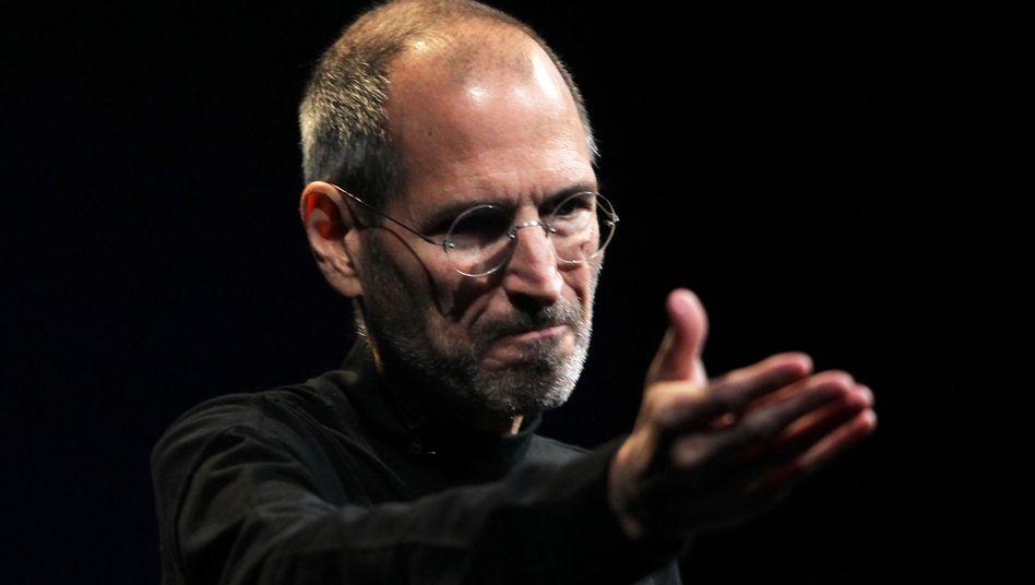 Veganer Visionär: Steve Jobs hat Apple zum Weltkonzern gemacht. Im Oktober 2011 ist der IT-Vordenker im Alter von 56 Jahren an einem Krebsleiden gestorben.