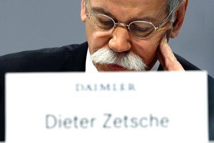 """Rechnet mit """"weiteren erheblichen Belastungen"""": Daimler-Chef Dieter Zetsche"""