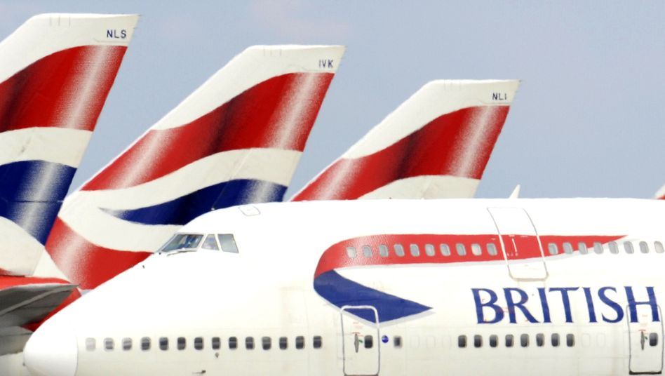 Boeing 747 der British Airways: Der Orkan blies die Maschine in 4 Stunden 56 Minuten von New York nach London