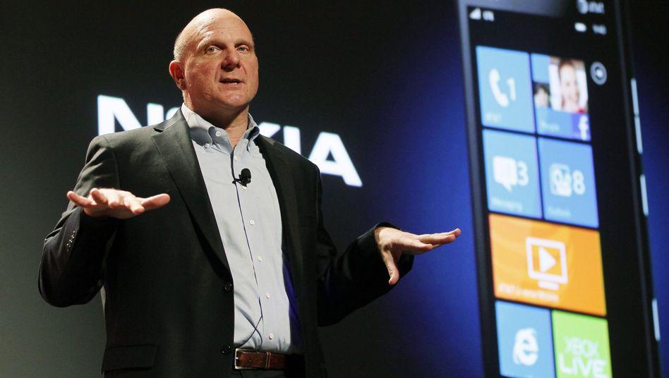 """""""Windows neu erdacht"""": Microsoft-Chef Ballmer bei der Eröffnung der CES in Las Vegas"""