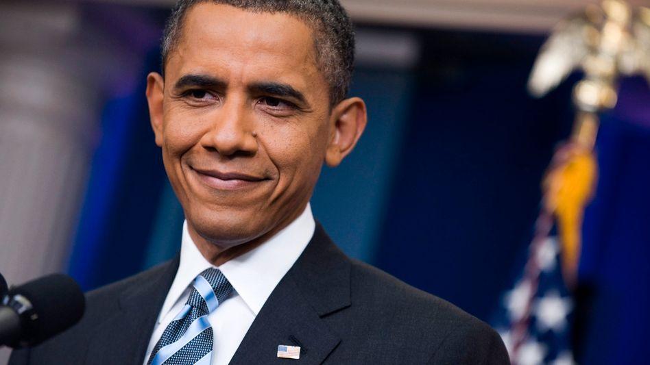 US-Präsident Obama: Der Demokrat müsste sich im Kongress mit einem Veto über die Missbilligung der Republikaner hinwegsetzen