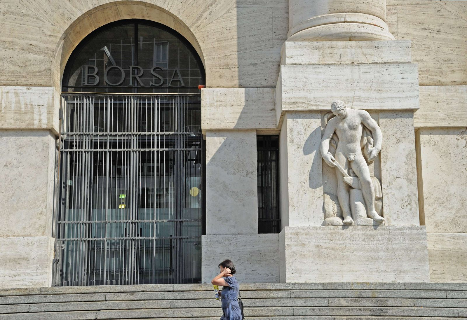 Italien / Mailand / Börse / Borsa / Aktien