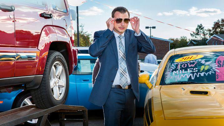 Verkäufer eines US-Autohändlers: In Verhandlungen muss nicht immer der Stärkere gewinnen