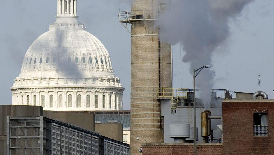 Kohlekraftwerk im Washingtoner Regierungsbezirk