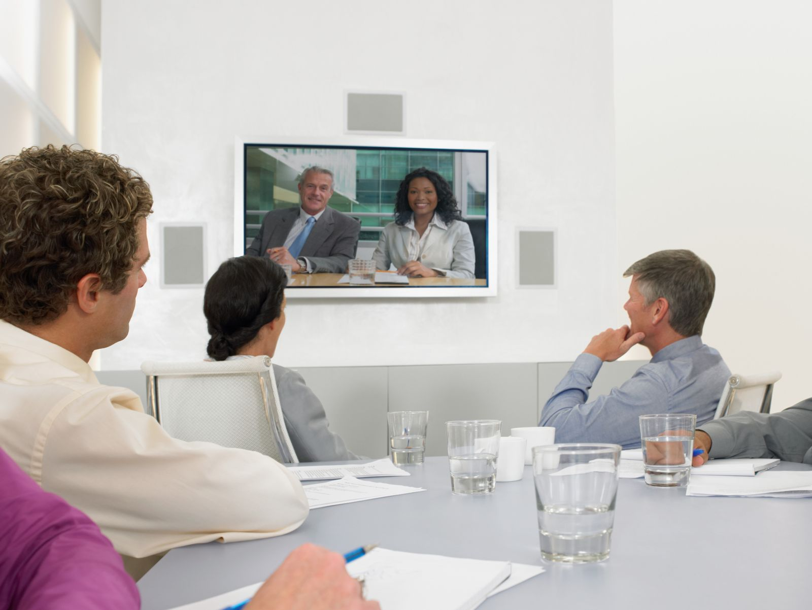 NICHT MEHR VERWENDEN! - Videokonferenz / Videochat / Konferenz / Meeting im Büro