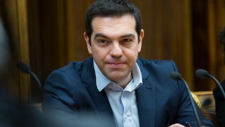 """Griechischer Regierungschef Tsipras: """"Die Menschen werden entscheiden"""""""