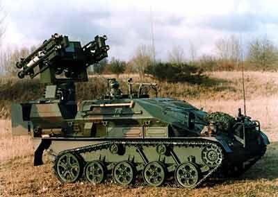 Luftlandepanzer: Rheinmetall ist stark im Bereich Flugabwehrsysteme