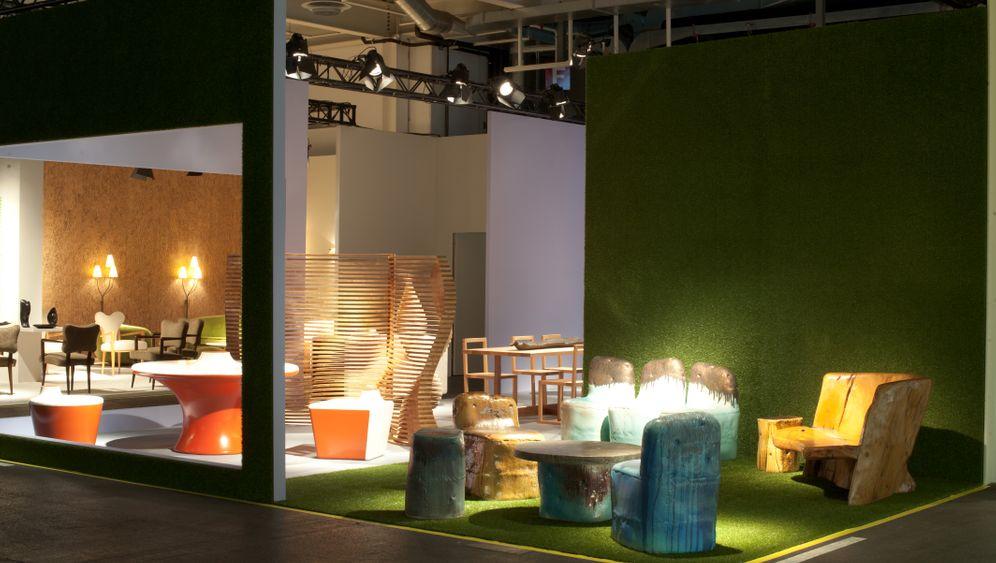 Sammlerstücke: Designermesse als Möbelmarkt