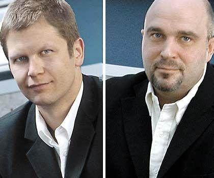Die Gastautoren: Kai Braue (l.) und Michael Paul sind für die Agentur Braue Branding & Corporate Design tätig.
