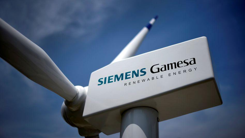 Laues Lüftchen: Vor allem bei den Windanlagen auf Land schwächelt das Geschäft von Siemens Gamesa
