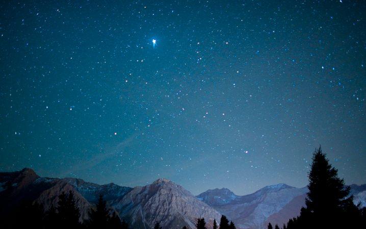 Orientierung: Finden Sie einen Stern, dem Sie folgen wollen