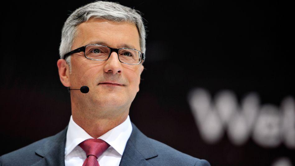 Wachstumstempo erhöht: Audi-Chef Rupert Stadler