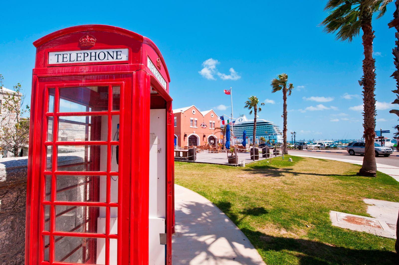 NICHT MEHR VERWENDEN! - Bermuda / Britische Steueroasen