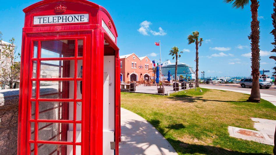 Hafen auf den Bermudas: Fast drei Viertel haben Töchter in Steueroasen