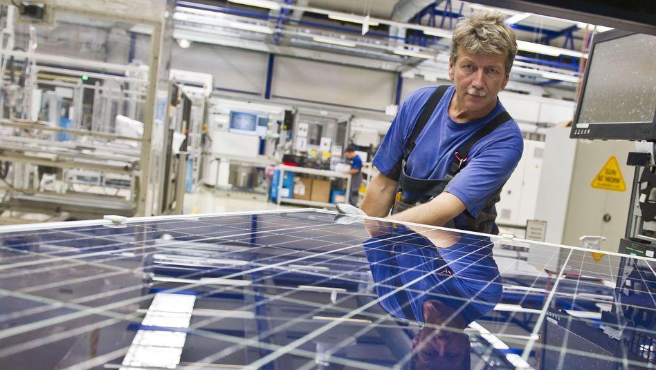 Modulfertigung: Solarworld will 800 Bosch-Mitarbeiter weiter beschäftigen
