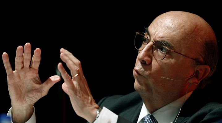 Gewährsmann der Wirtschaftsliberalen: Der designierte Finanzminister Henrique Meirelles