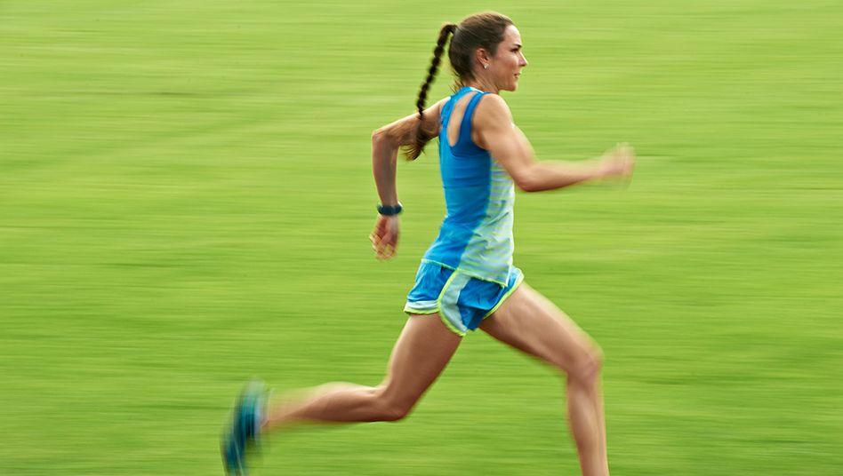 Laufen Sie nur, wenn Sie das Laufen lieben, rät Coach Sonja von Opel