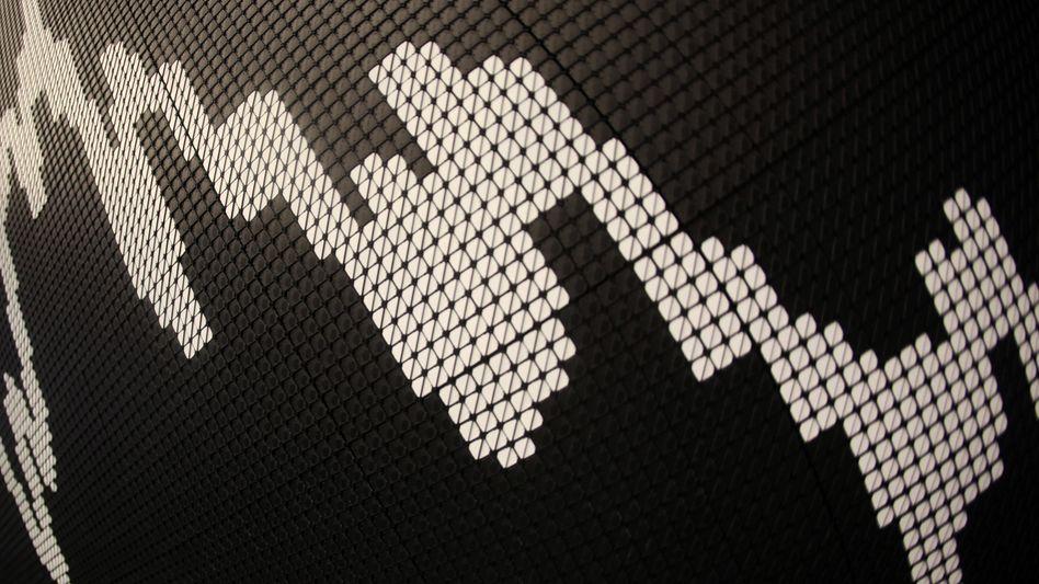 Dax-Kurve: Die Investoren müssen am Freitag zahlreiche Quartalszahlen verarbeiten