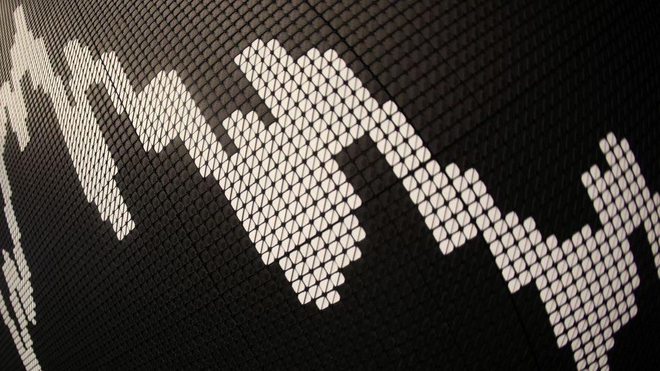Dax-Kurve: Der Leitindex tut sich schwer, das jüngste Rekordhoch zu überwinden