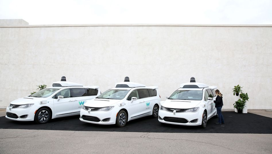 Waymo-Autos in Arizona (Archivaufnahme)